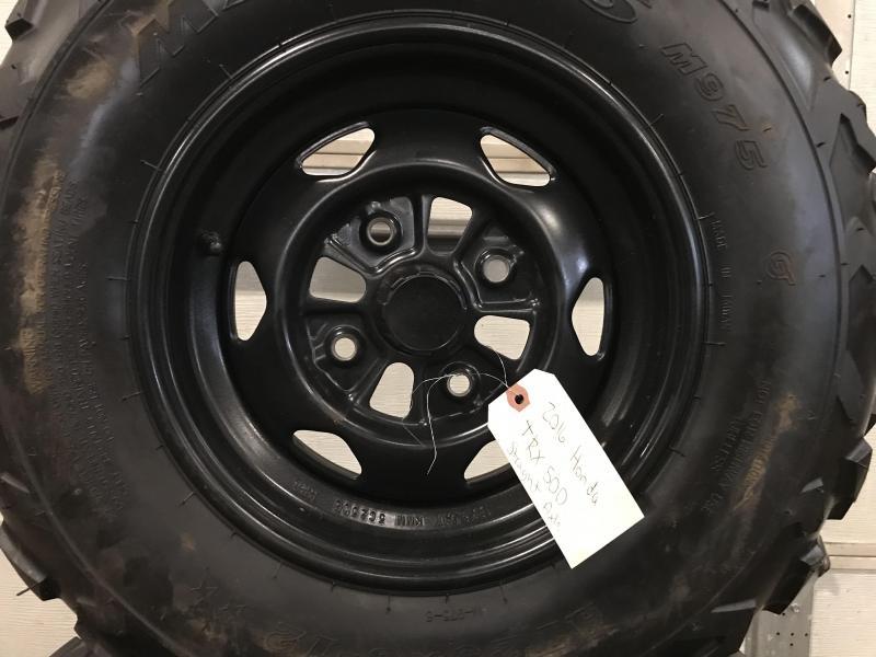 Set of 4 2016 Honda TRX 500 Take off Tires (0029) $250/set