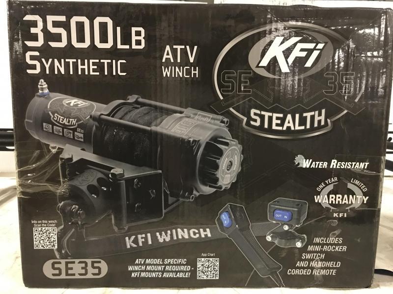 KFI Stealth Winch - 3500 lb. (100202) $290