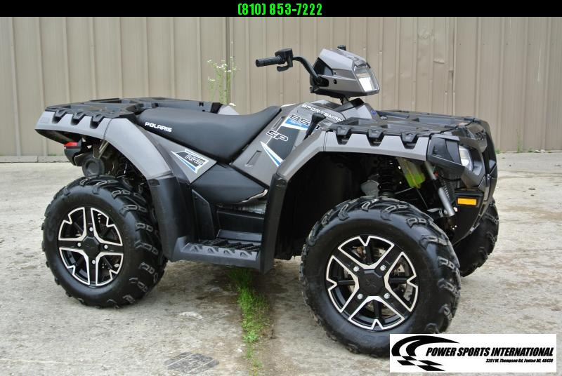2016 POLARIS SPORTSMAN 850 SP Silver Metallic Edition #2719