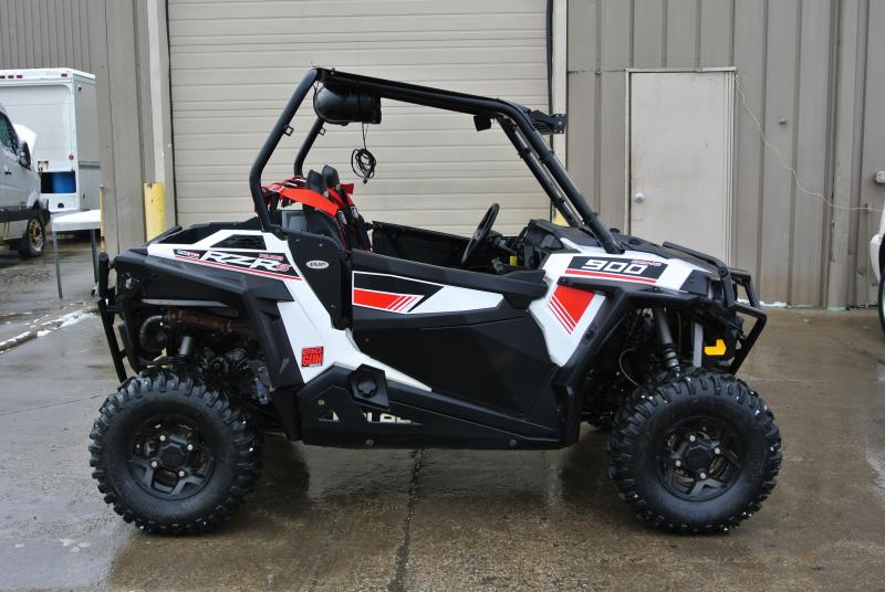 2016 POLARIS RZR S 900 EPS White Lightning Sport Side-by-Side #3450