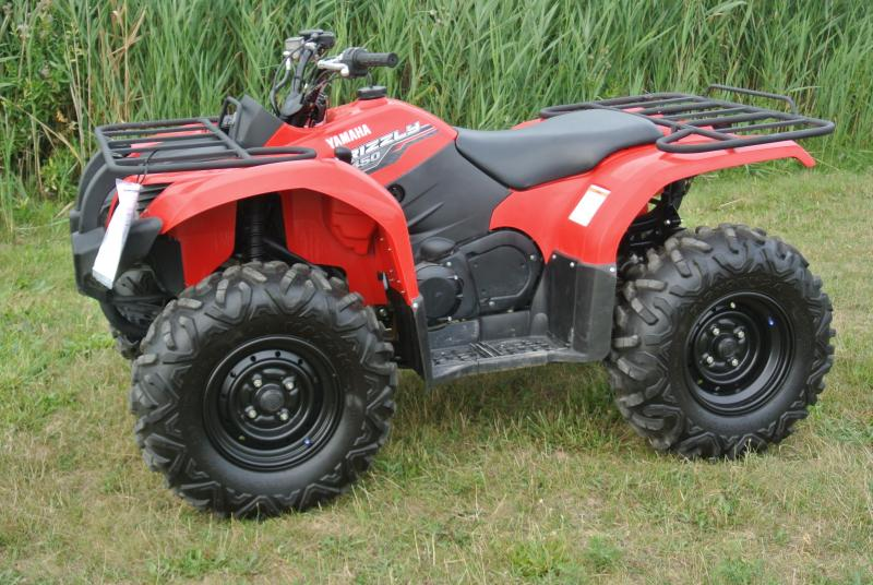 2014 YAMAHA YFM450DEL GRIZZLY 4WD Red #103739