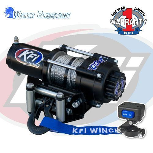 2017 KFI 2500 lb Winch ATV