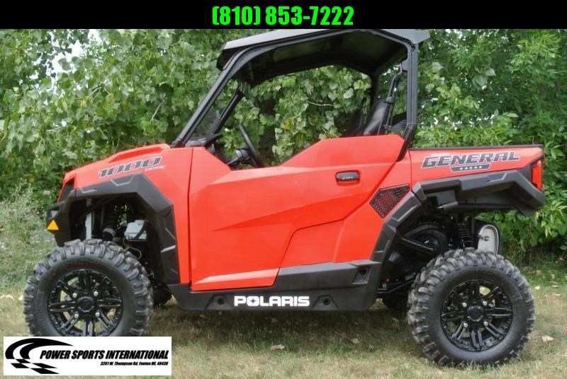 2018 Polaris General 1000 EPS Red Sport Utility Side-by-Side #9899