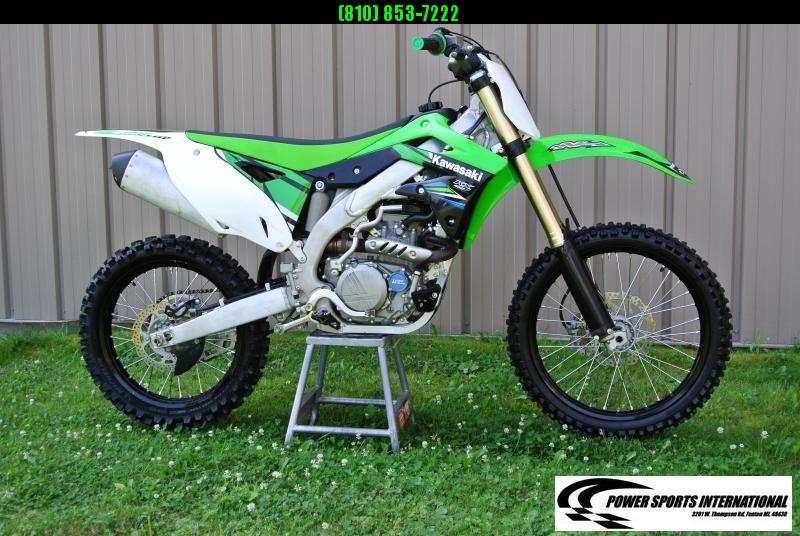 2014 KAWASAKI KX450HHF Motorcycle MX Dirt Bike MONSTER ENERGY #6294