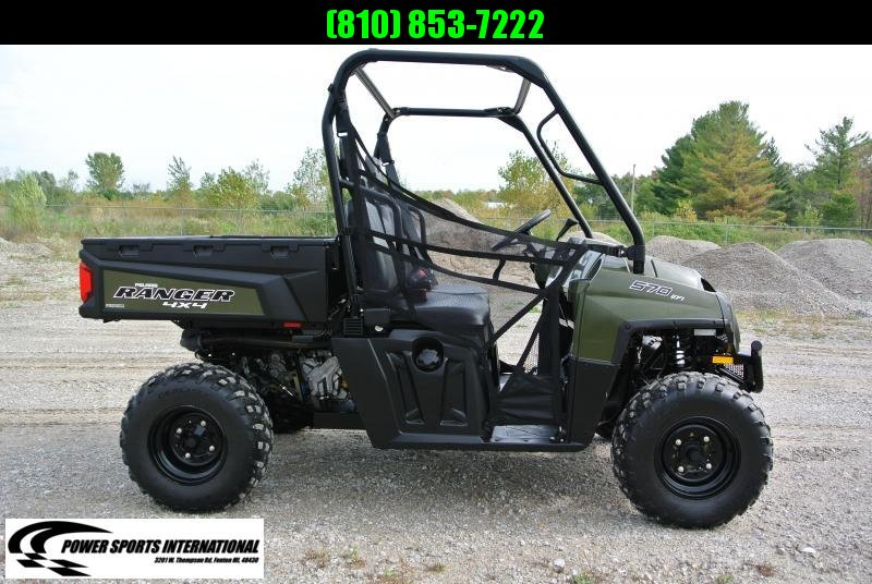 2017 Polaris Ranger 570 FULL SIZE Utility Side-by-Side (UTV) HUNTER GREEN #6711
