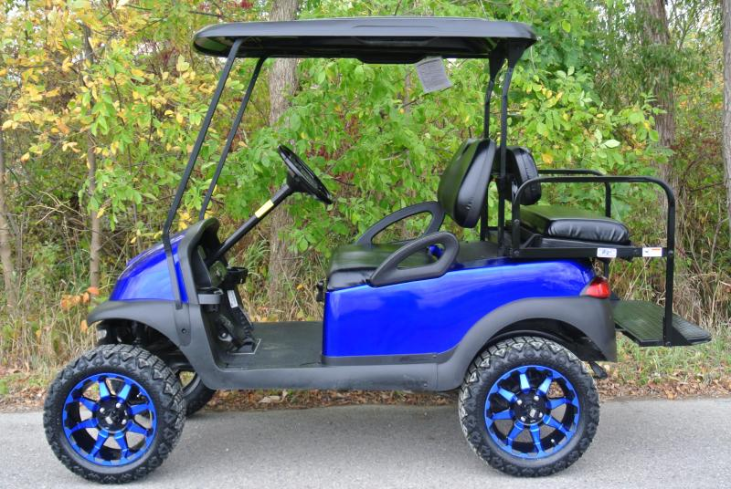 2010 Club Car Precedent Custom Lifted Gas Golf Cart #1921