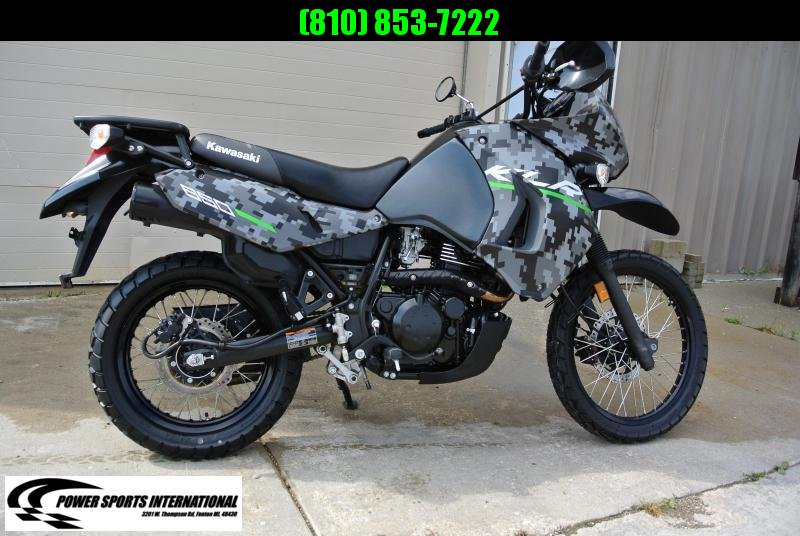 2016 KAWASAKI KL650EGFA KLR 650 DIGITAL CAMO EDITION MOTORCYCLE #5520