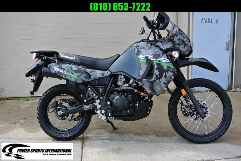 2016 KAWASAKI KL650EGFA KLR 650 DIGITAL CAMO EDITION MOTORCYCLE #5520
