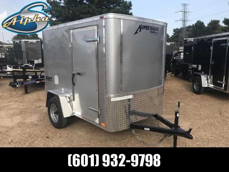 New 2019 5 x 8 Single Axle Economy Enclosed Trailer