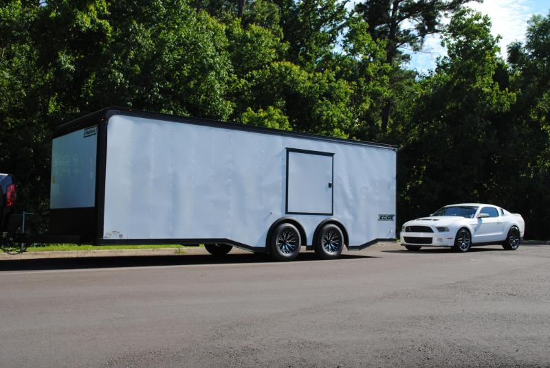 2017 Haulmark 8.5 x 24 EDGE Series Enclosed Car Hauler