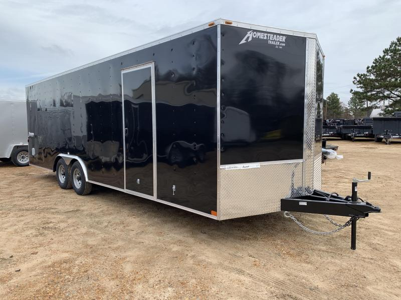 New 8.5 x 24 Tandem Enclosed Cargo Car Hauler 10K GVWR