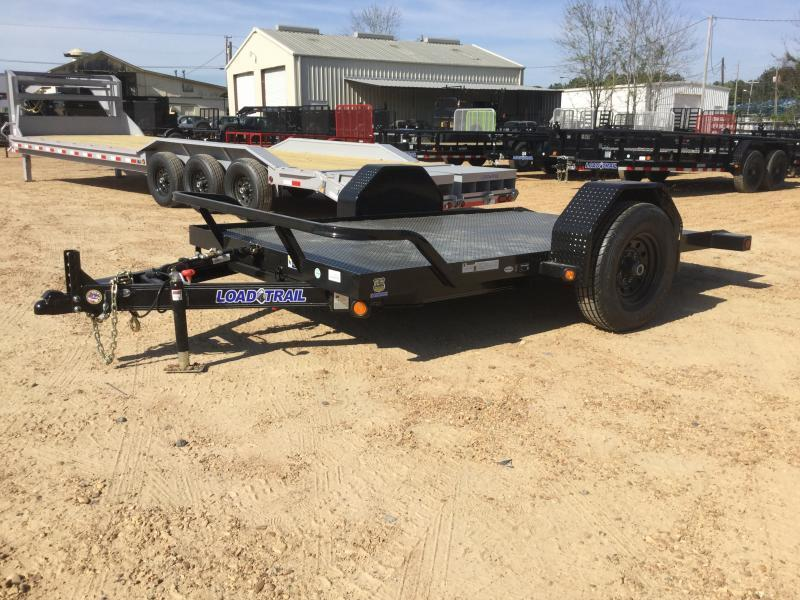 "2018 Load Trail 77"" x 10' Single Axle Tilt Trailer 7K GVWR"