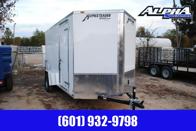 2019 Homesteader 6' x 12' Cargo/Enclosed Trailer 3k GVWR