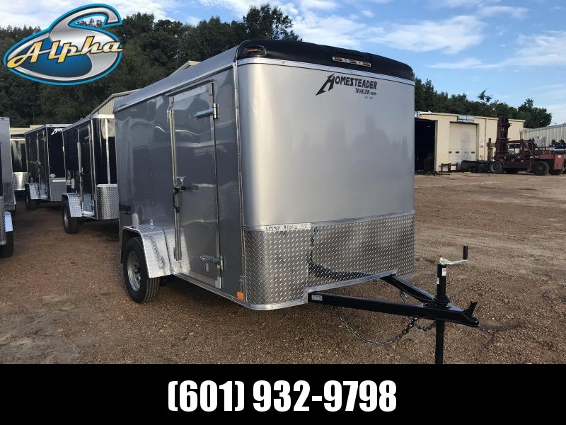 New 2019 6 x 10 Single Axle Enclosed Cargo Trailer