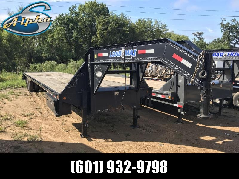 Used 2015 Load Max 40ft Hotshot Trailer 25.9K GVWR