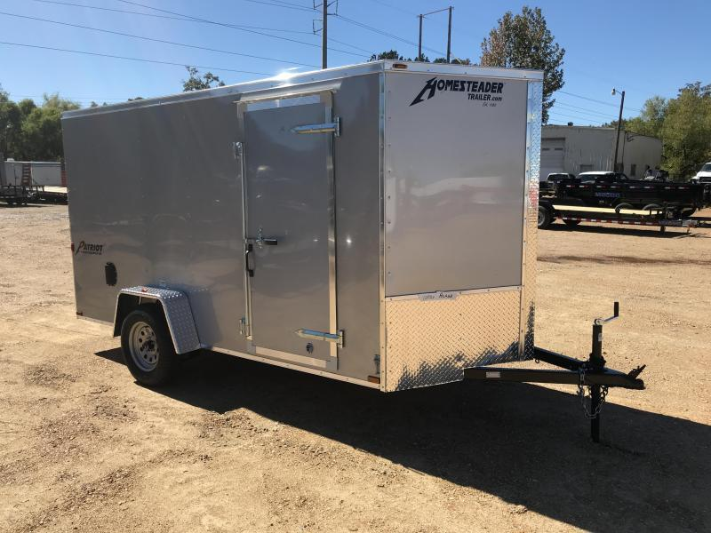 2018 Homesteader 6 x 12 Enclosed Cargo Trailer