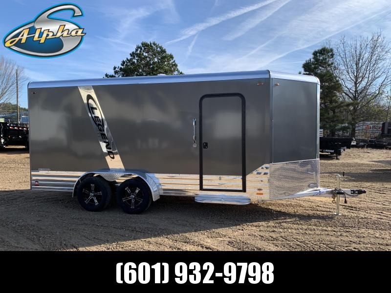 2019 Legend Aluminum 7 x 19 Deluxe Enclosed Cargo Trailer