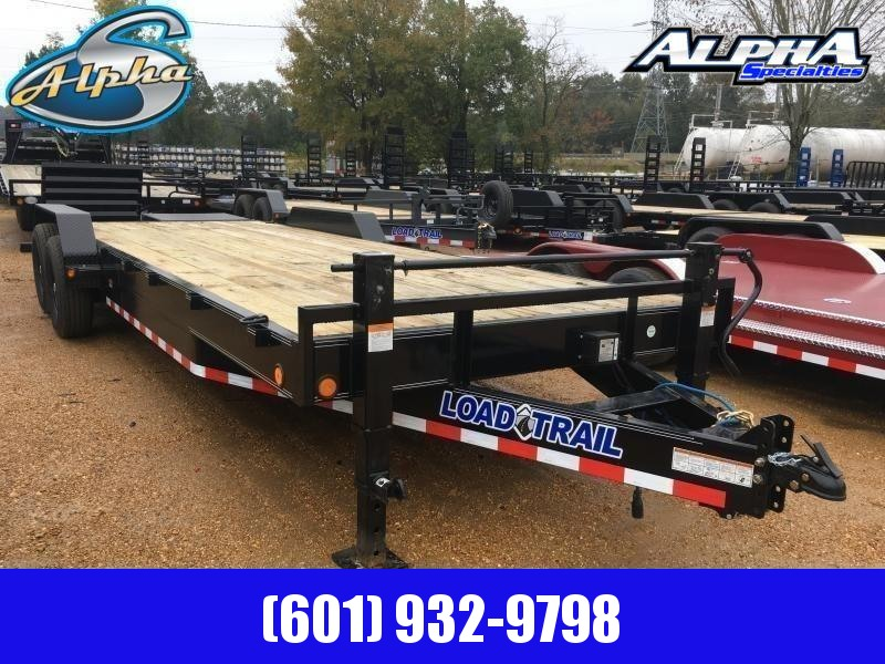 "2019 Load Trail 83"" x 24' Car/Equip. Trailer 14k GVWR"