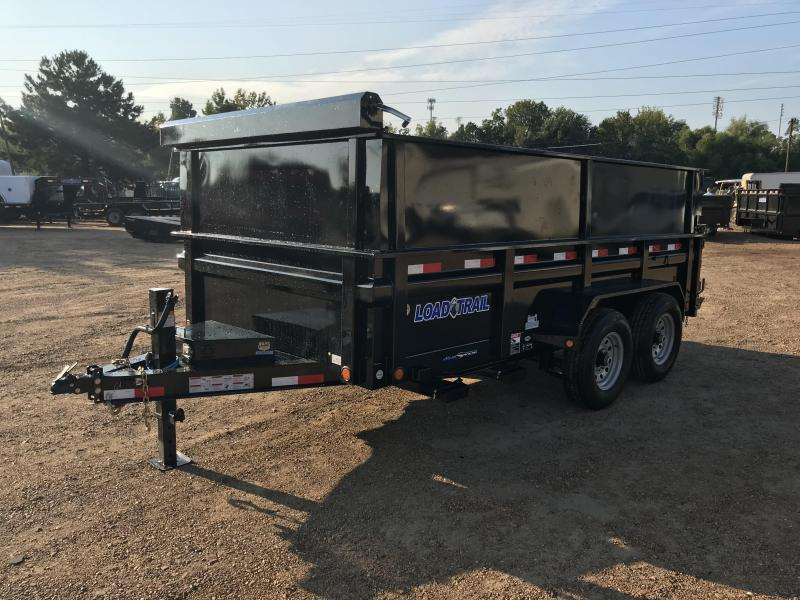 2018 Load Trail 83 x 14 Lo-Pro Dump Trailer w/ Side Extensions