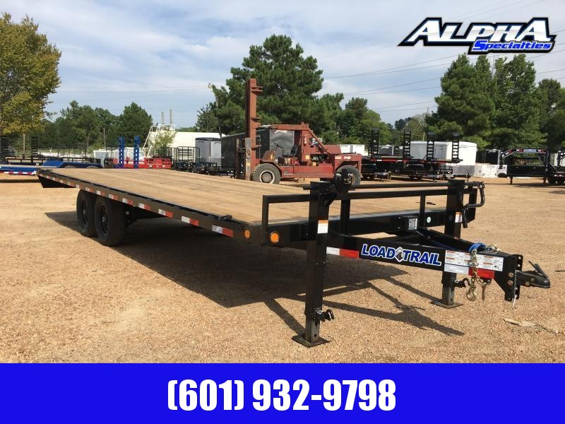 """2020 Load Trail 102"""" x 24' Deck Over Pintle Hook Equipment Trailer"""
