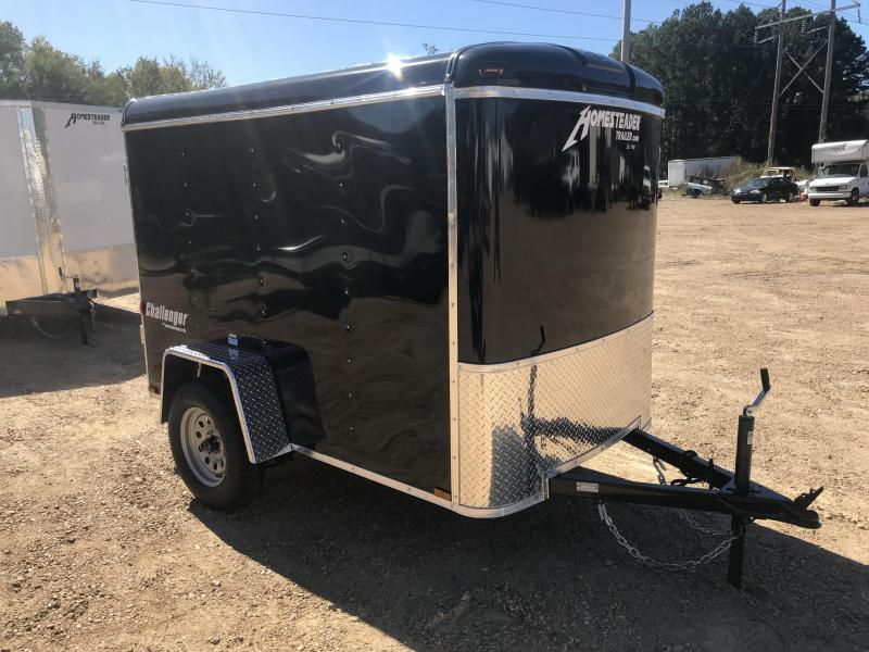 2018 Homesteader 5 x 8 Enclosed Cargo Trailer