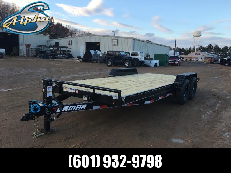 "2019 Lamar Trailers 83"" x 20' Car/Equip. Trailer 14k GVWR"