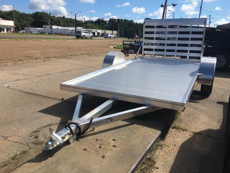 2019 Mission 6' x 12' Aluminum Utility/ATV/UTV Trailer 3500 GVWR