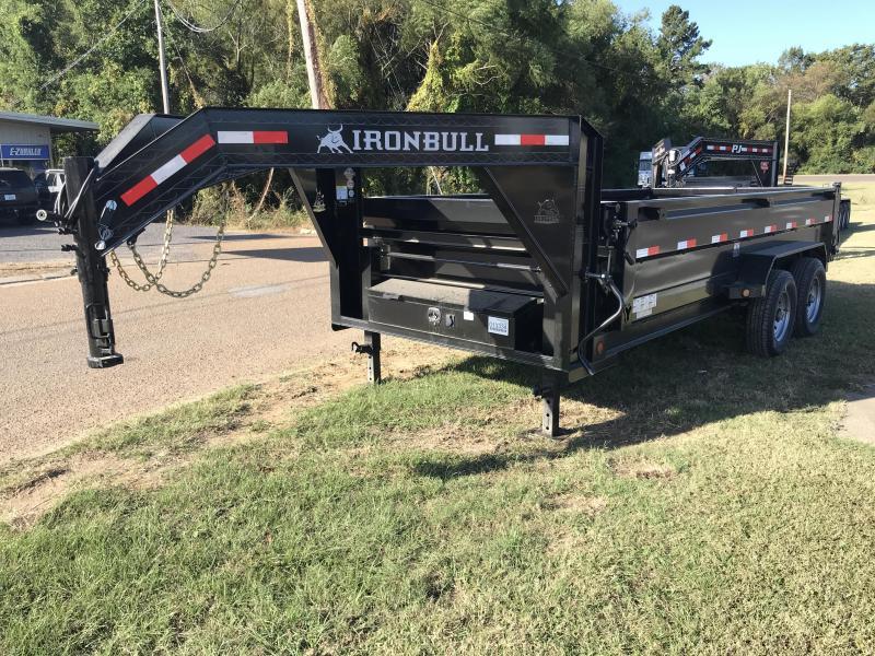 2018 Iron Bull 83 x 16 Gooseneck Dump Trailer