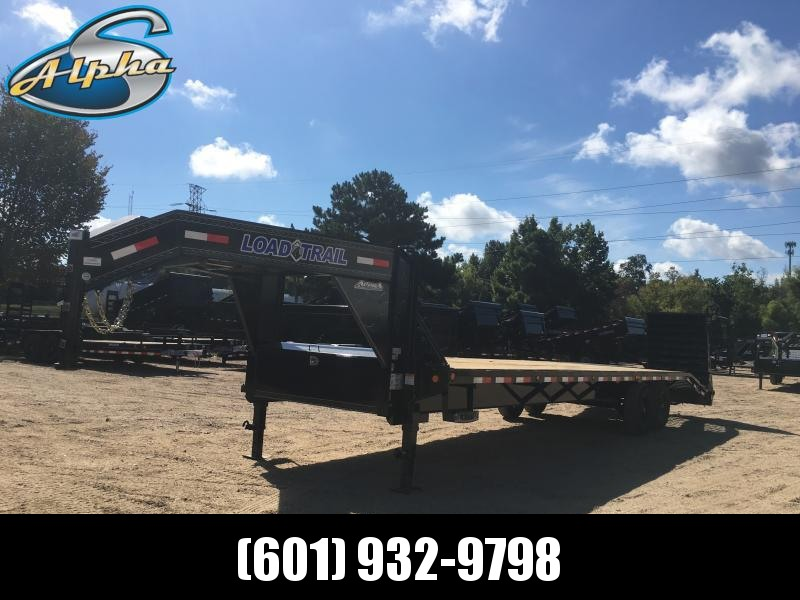 2019 Load Trail 102 x 30 Gooseneck Flatbed Trailer 14K GVWR