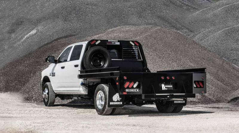 2016 Bedrock SLATE Bed Ford Dually