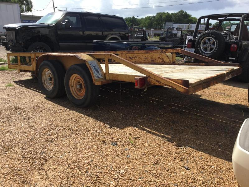 Used 1997 6.5 x 16 Utility Trailer