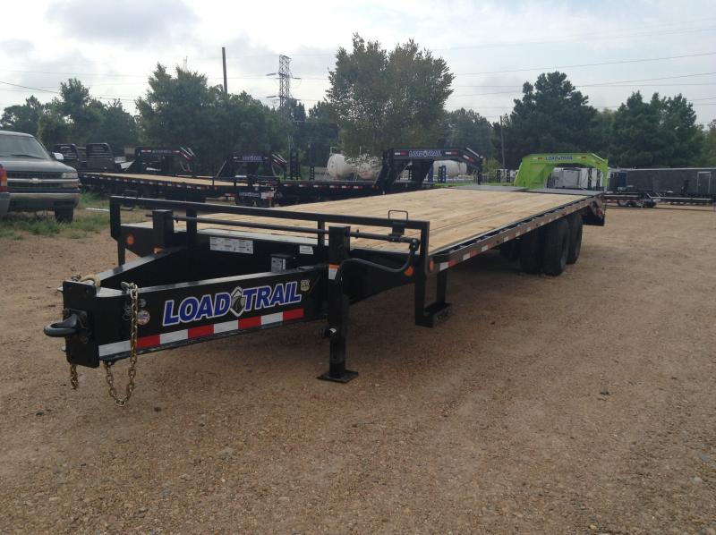 "2018 Load Trail 102"" x 30' Equipment Trailer 20k GVWR"