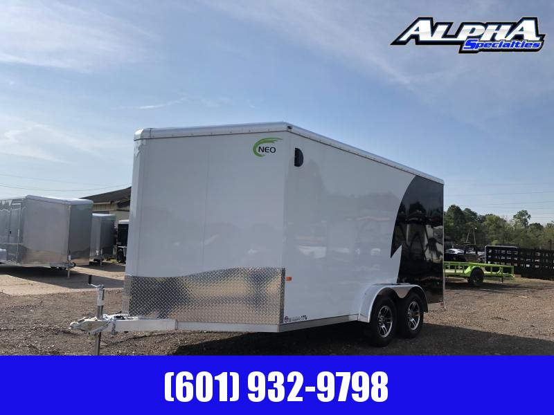 2019 NEO Trailers 7.5' x 14' Aluminum Tandem Axle Enclosed Trailer
