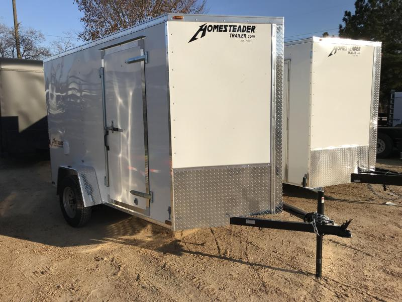 2018 Homesteader 6 x 10 V-Nose Enclosed Cargo Trailer