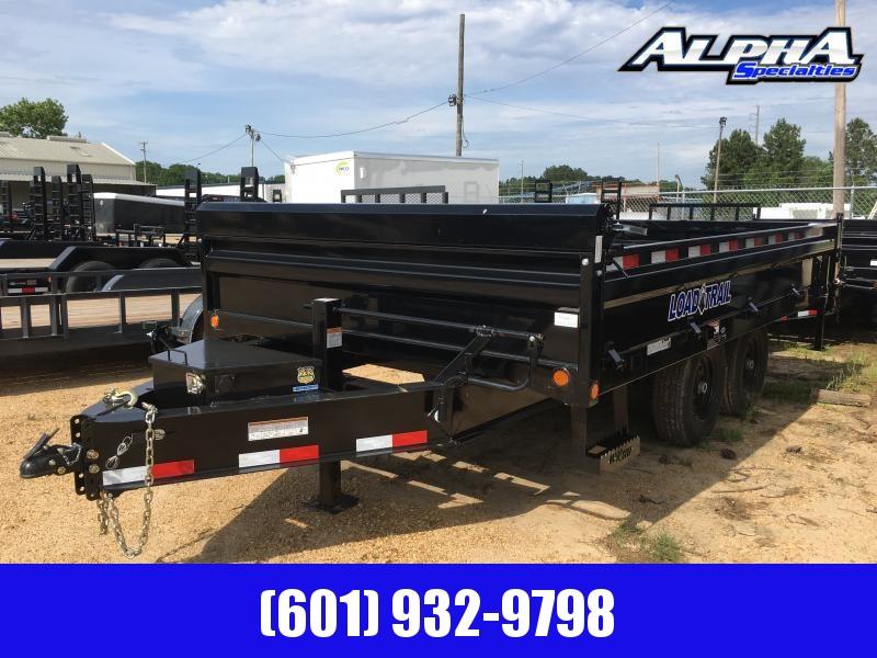 2019 Load Trail 96 (8') x 14 Deck Over Bumper Dump Trailer 14K GVWR