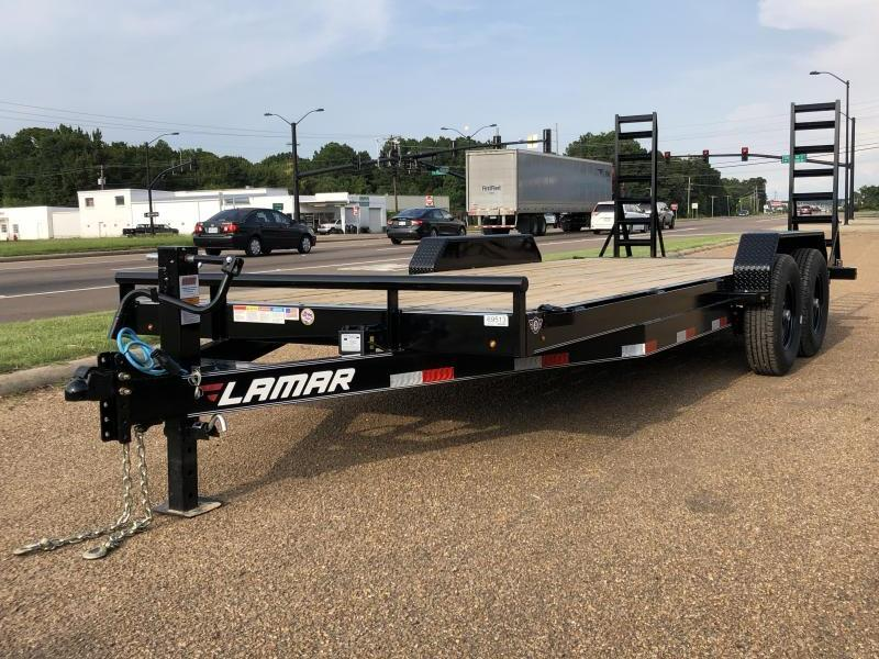 "2018 Lamar Trailers 83"" x 20' Equipment Hauler 14k GVWR"