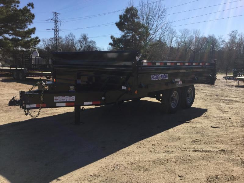 "2018 Load Trail 96"" x 14' Deck Over Dump"