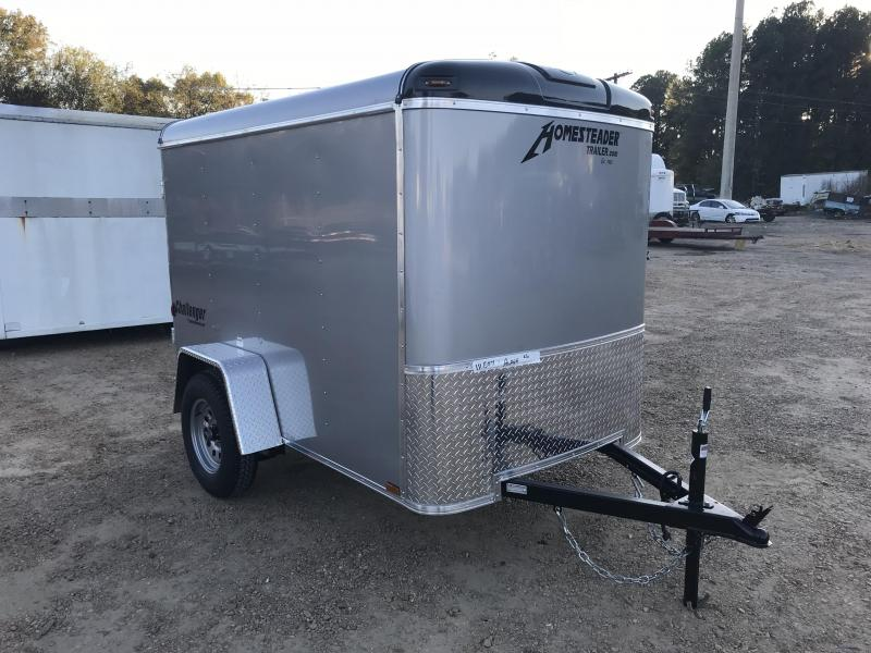 New 2019 5 x 8 Single Axle Enclosed Cargo Trailer 3K GVWR