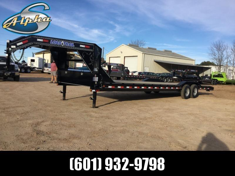 2019 Load Trail 102 x 32 Gooseneck Equipment/Car Hauler 14K GVWR