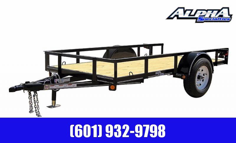 "2020 Load Trail 77 x 12 Single Axle (2"" x 3"" Angle Frame) Landscape  Utility Trailer 3K GVWR"