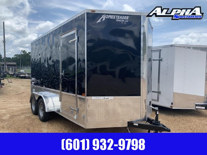 2019 Homesteader 7 x 14 Enclosed Cargo Trailer OFFROAD