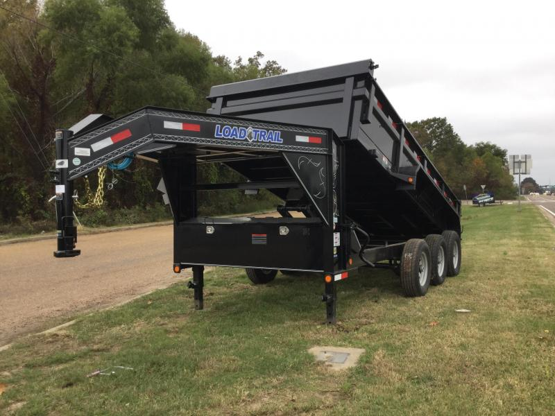 2018 Load Max 83 x 16 Gooseneck Triple Axle Dump Trailer