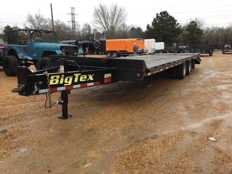 "Used 2016 Big Tex Trailers 102"" x 25"