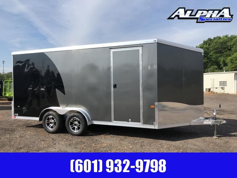 2019 NEO Trailers 7.5' x 16' Aluminum Tandem Axle Enclosed Trailer