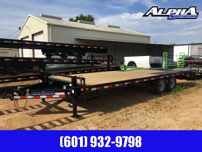 2019 Load Trail 102 x 24 Deckover Flatbed Trailer 14K GVWR