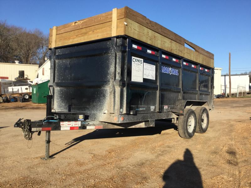 USED 2018 Load Trail 83 x 16 Dump Trailer w/ 4