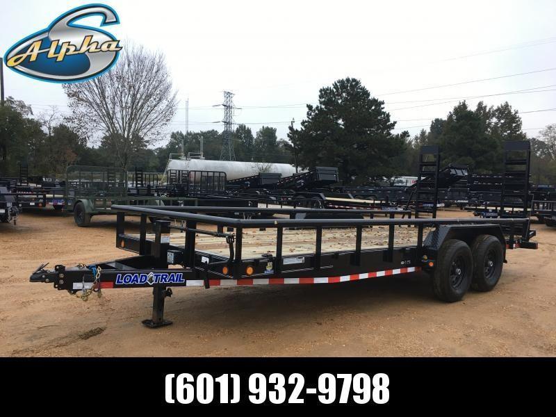 2019 Load Trail 83 x 20 Equipment Hauler 14K GVWR