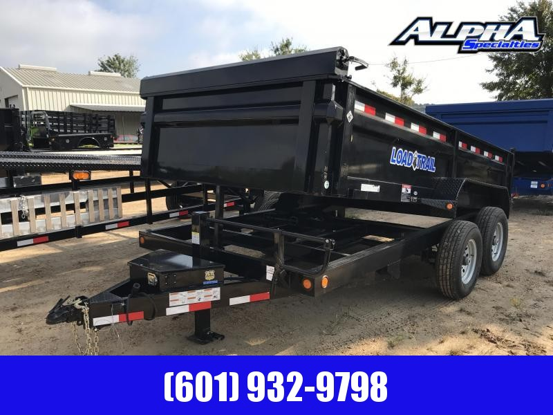 "2020 Load Trial 83"" x 14' Tandem Axle Dump Trailer"