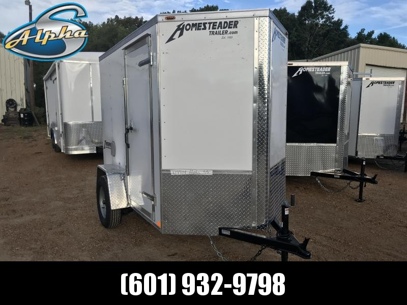 New 2019 5 x 8 Single Axle Enclosed Cargo Trailer
