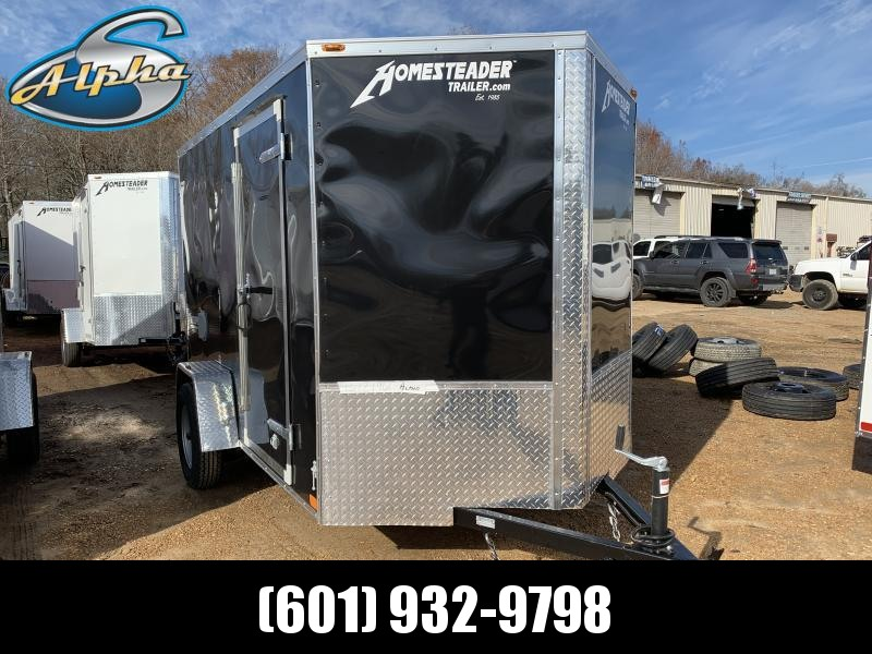 New 2019 6 x 10 Single Axle Enclosed Cargo Trailer 3K GVWR